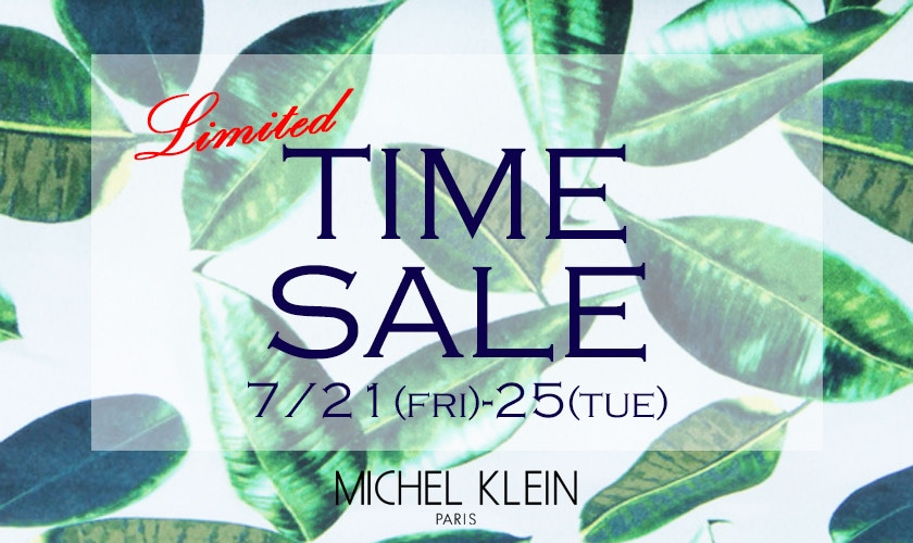 【MICHEL KLEIN】5DAYS LIMITED TIME SALE