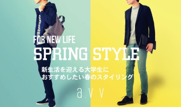 [a.v.v MEN]FOR NEW LIFE -SPRING STYLE-