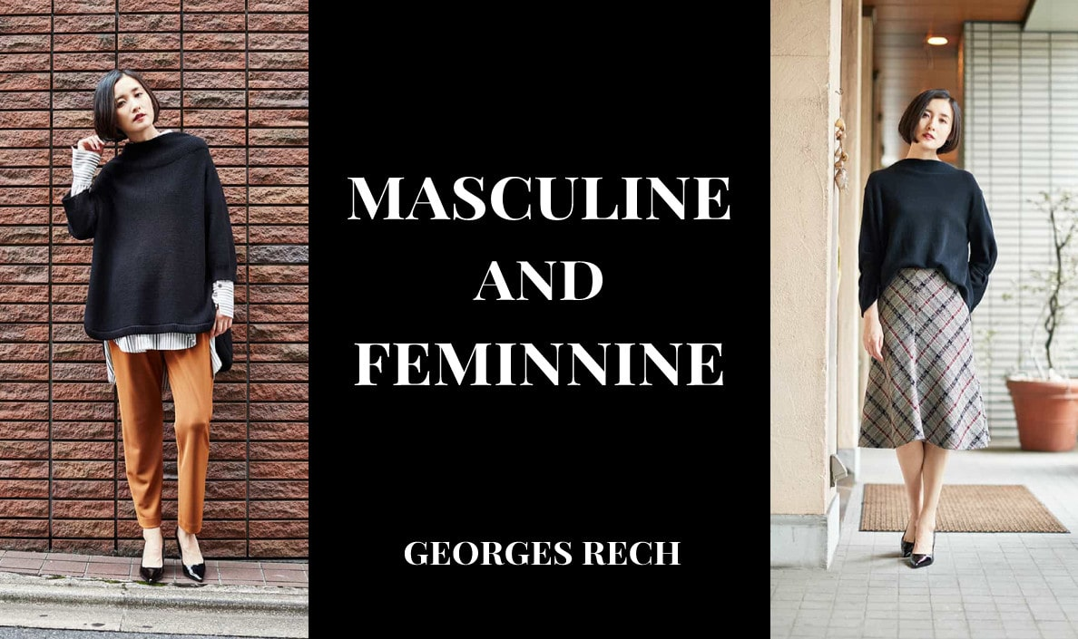【GEORGES RECH】MASCULINE AND FEMINNINE