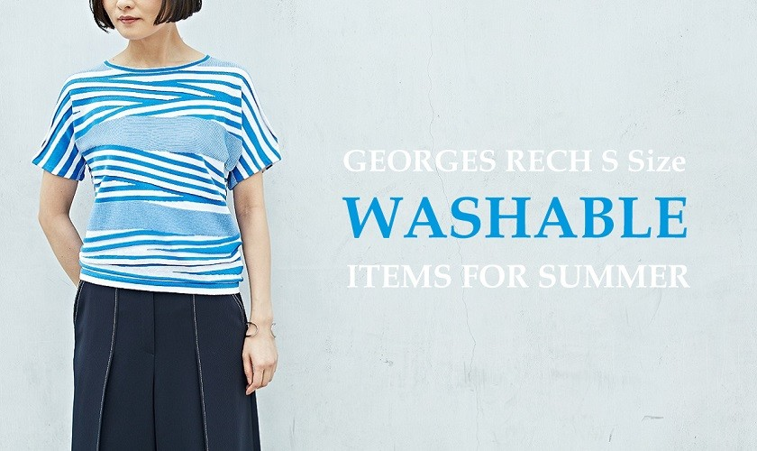 【GEORGE RECH Ssize】WASHABLE ITEMS