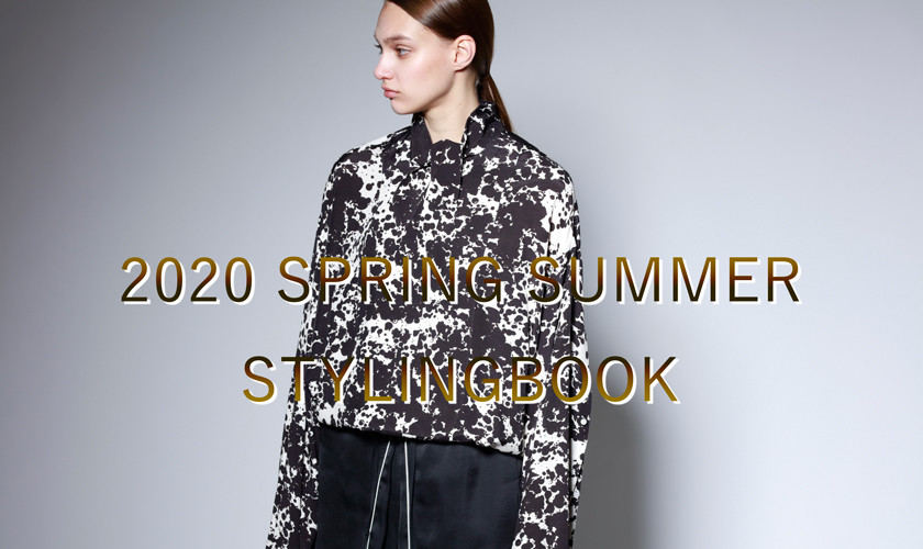 STYLE BOOK -2020 Spring & Summer- 【re:edition project 165】