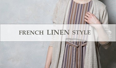 【GEORGES RECH】FRENCH LINEN STYLE