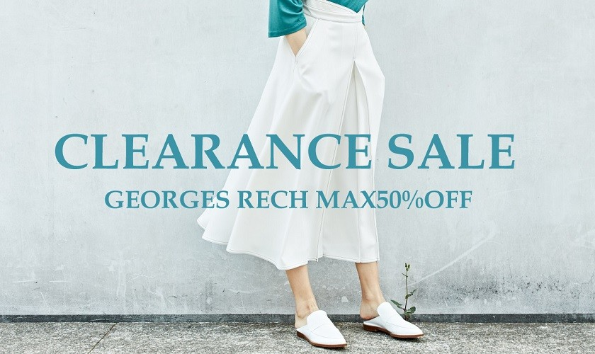 【GEORGES RECH】CLEARANCE SALE
