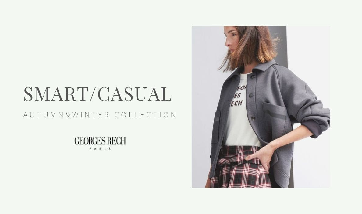 【カタログ】2019 ATUMUN SMART CASUAL