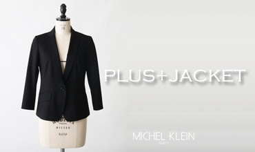 PLUS JACKET by MICHEL KLEIN