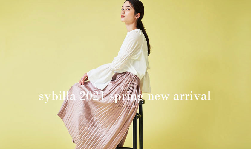 【Sybilla】2021 spring collection - new arrival -
