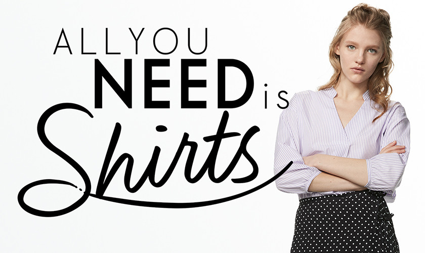 【ELLE】ALL YOU NEED IS SHIRT