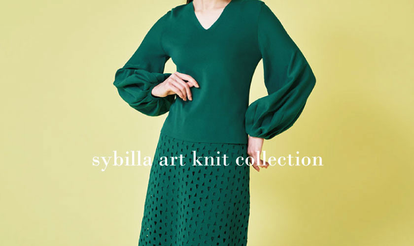sybilla art knit collection