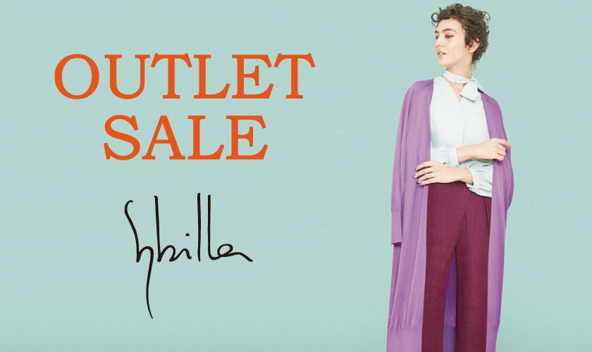 【Sybilla】OUTLET SALE !!