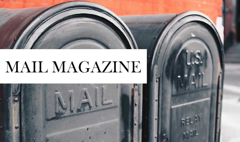 【MK BAG】MAIL MAGAZINE