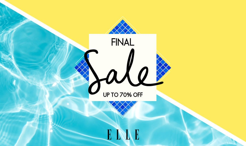 【ELLE】FINAL SALE!MAX70%OFF!