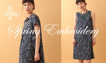 【Jocomomola】Spring Embroidery