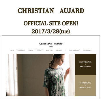 【CHRISTIAN AUJARD  LIBRTE】OFFICIAL-SITE OPEN!