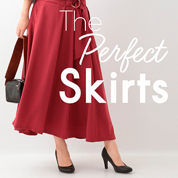 【ELLE】the Perfect Skirts