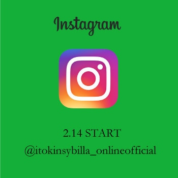 【Sybilla】instagram start !!