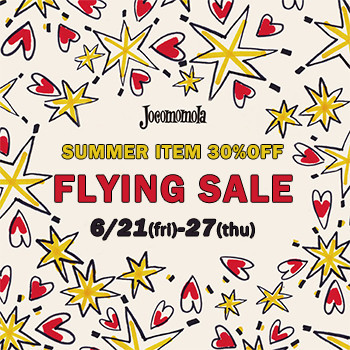 ★FLYING SALE今季夏物30%OFF★