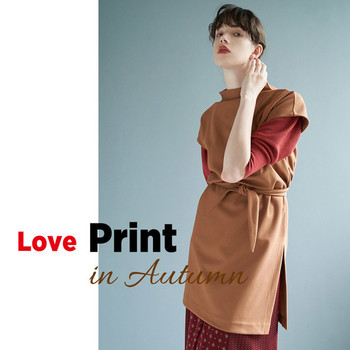 Love Print in Autumn