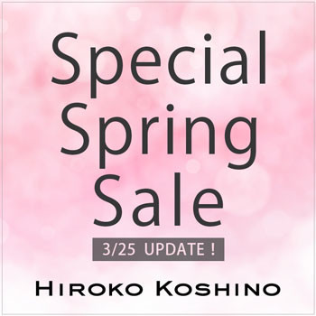 Special Spring Sale〈3/25 UPDATE!〉