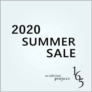 2020 SUMMER SALE【re:edition project 165】