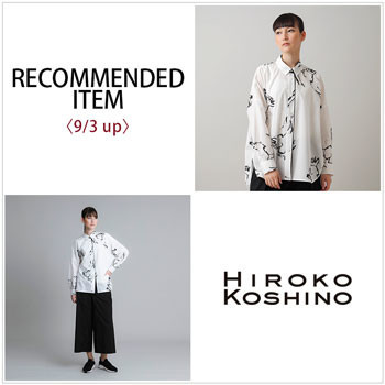 RECOMMENDED ITEM〈9/3up〉