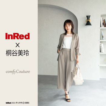 【comfyCouture】InRed 6月号 に掲載されました