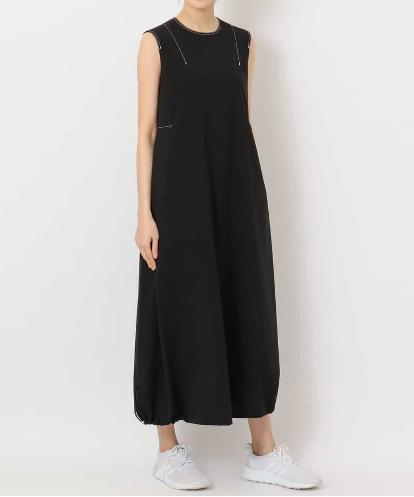 """PURE"" COCOON-HEM DRESS"