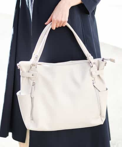 521c3dcc2aa5 BKBGG06160 MK MICHEL KLEIN BAG 【2WAY】フェイクレザートートバッグ