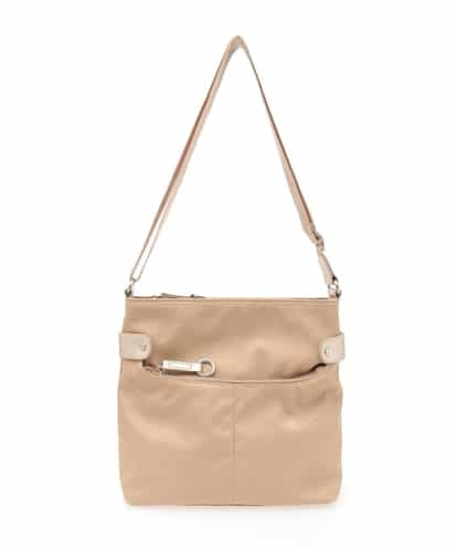 MK MICHEL KLEIN BAG(エムケー ミッシェルクラン バッグ) 【撥水】ナイロンショルダーバッグ ベージュ フリーサイズ
