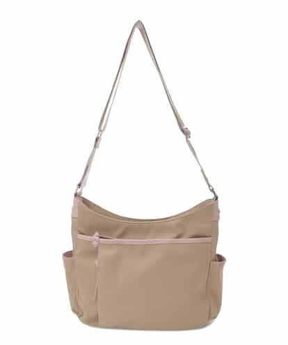MK MICHEL KLEIN BAG(エムケー ミッシェルクラン バッグ) 【撥水】ナイロンショルダーバッグ ライトピンク フリーサイズ