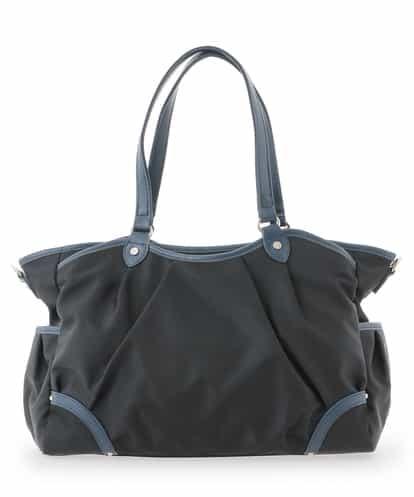 MK MICHEL KLEIN BAG(エムケー ミッシェルクラン バッグ) 【2WAY/撥水】ナイロンボストンバッグ ホワイト フリーサイズ