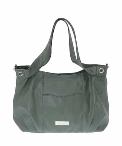 MK MICHEL KLEIN BAG(エムケー ミッシェルクラン バッグ) 【2WAY】デザイントートバッグ マスタード フリーサイズ