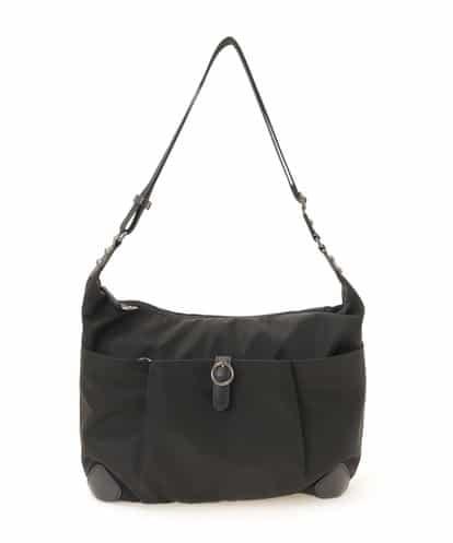 MK MICHEL KLEIN BAG(エムケー ミッシェルクラン バッグ) 【撥水】ナイロンショルダーバッグ ブラック フリーサイズ