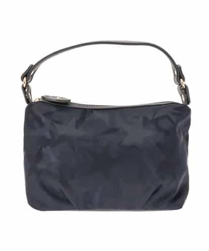 MK MICHEL KLEIN BAG(エムケー ミッシェルクラン バッグ) スターカムフラージュデザインバッグ ネイビー フリーサイズ