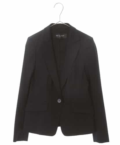 Maison de CINQ(メゾンドサンク) 【洗える/セットアップ対応】トリコットテーラードジャケット ネイビー 34