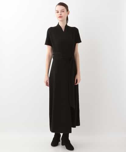 Sybilla(シビラ) GOYO BY SYBILLA シルクカシミヤニットドレス ブラック 38