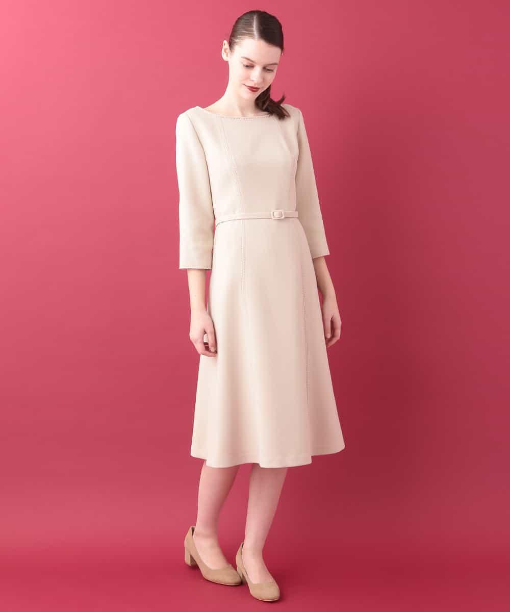 Sybilla(シビラ)デザインステッチドレス