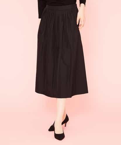 Sybilla(シビラ) タフタギャザーボリュームスカート ブラック 36