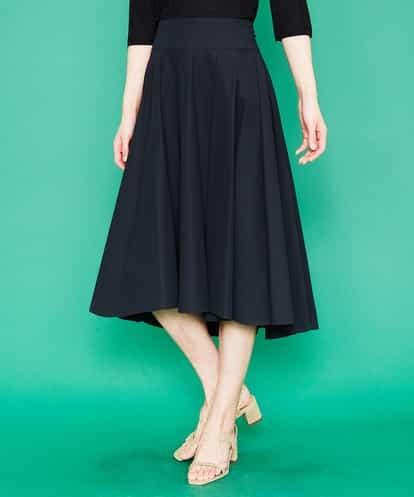 Sybilla(シビラ) ツイルプリーツスカート ブラック 40