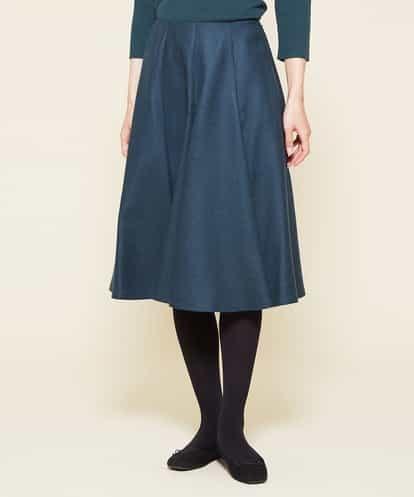 Sybilla(シビラ) アドリア−ナウール切り替えデザインスカート グリーン 42