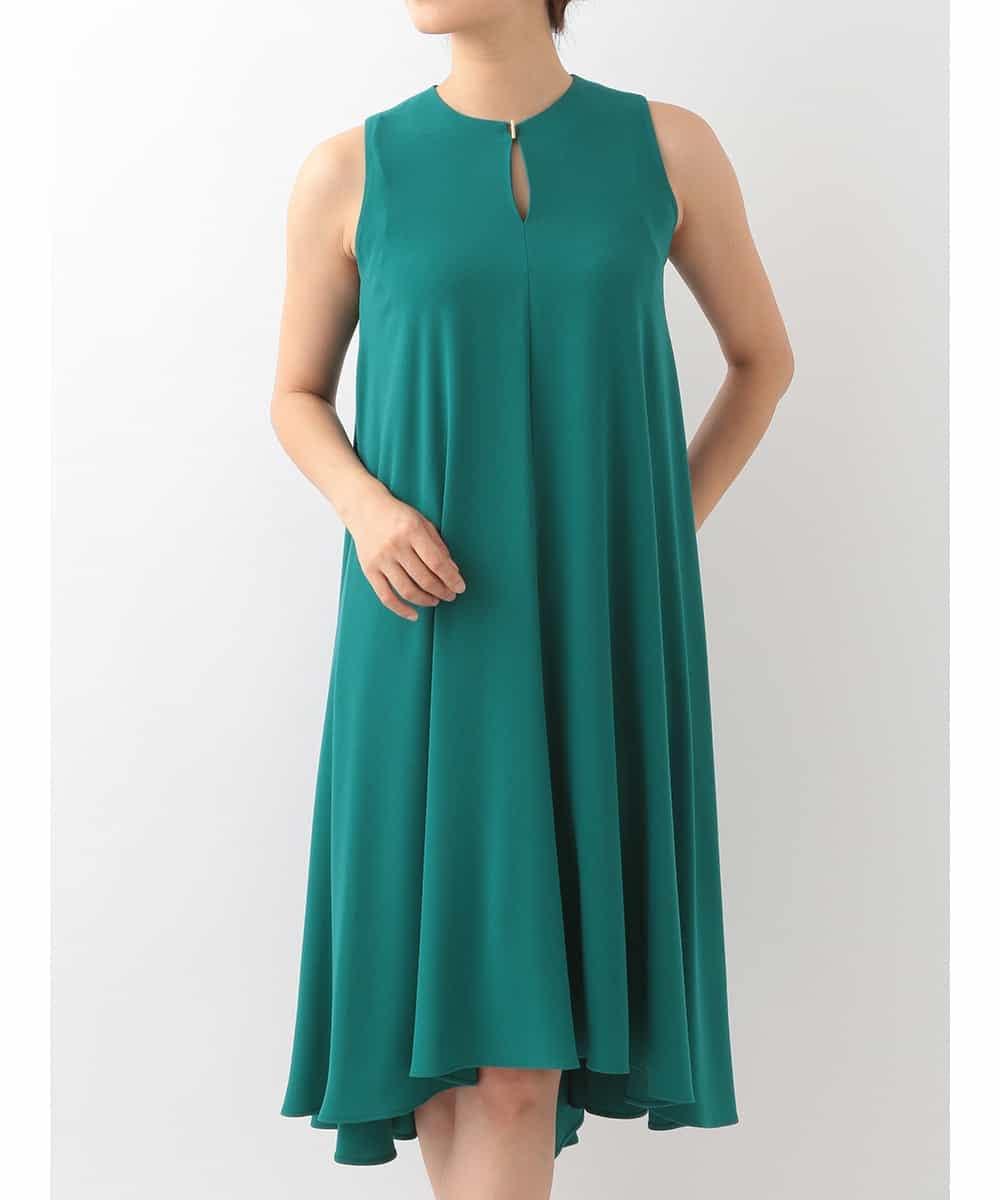 Sybilla(シビラ)ドレープデザインドレス