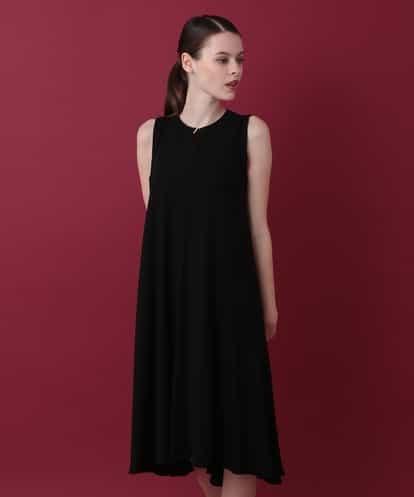 Sybilla(シビラ) ドレープデザインドレス ブラック 40