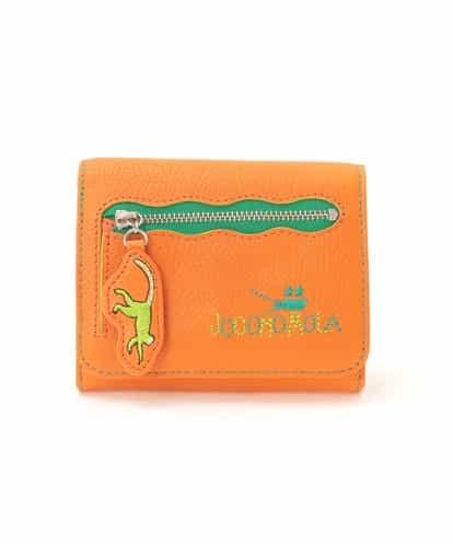 Jocomomola(ホコモモラ) カメラモチーフ 二つ折り財布 オレンジ 40