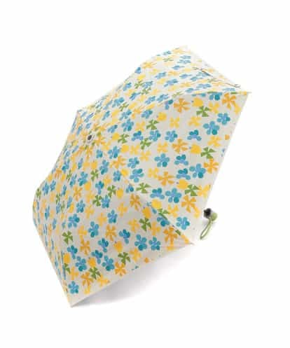 Jocomomola(ホコモモラ) TACHAN!!! フラワープリント折りたたみ傘 アイボリー 40