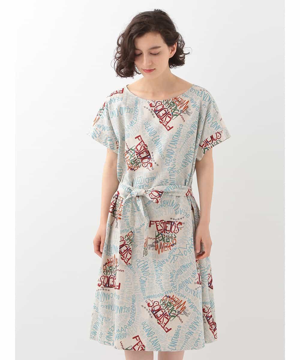 Jocomomola de Sybilla(ホコモモラ デ シビラ)FESTEJOS POPULARES デザインプリントドレス