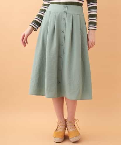 Jocomomola(ホコモモラ) ハニーヴィンテージスカート ライトブルー 40