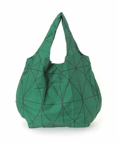Sybilla(シビラ) ジオメトリックパターンエコバッグ グリーン フリーサイズ