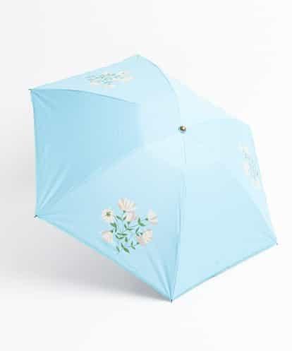Sybilla(シビラ) アバニーコ 折りたたみ傘 ライトブルー フリーサイズ