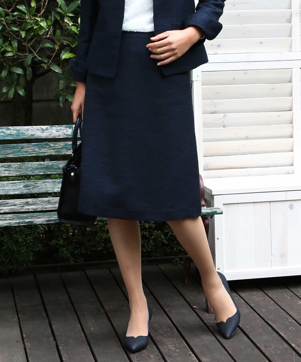 ELLE(エル)[セットアップ対応]オケージョンスカート