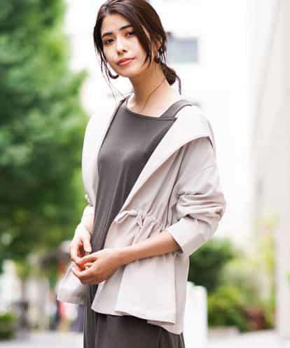a.v.v(アー・ヴェ・ヴェ) ライトフーテッドシャツジャケット ベージュ 36