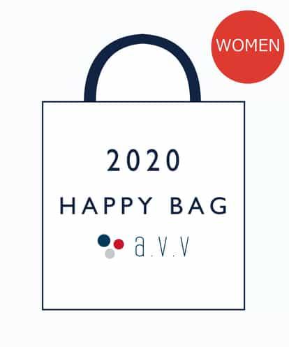 a.v.v(アー・ヴェ・ヴェ) 【2020数量限定福袋 】 a.v.v WOMEN 5,000円+税 ネイビー 40